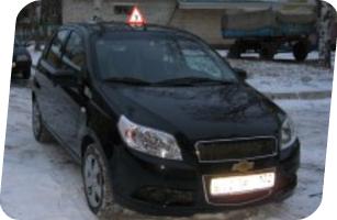 Уроки вождения на Chevrolet Aveo мкпп