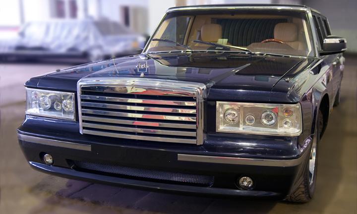 ЗИЛ продемонстрировал машину президента