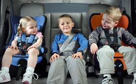 Перевозка детей без автокресла будет стоить очень дорого
