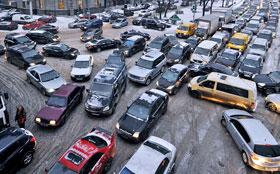 Водителей хотят лишать прав за выезд на забитый перекресток