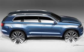 Volkswagen показал новый большой внедорожник