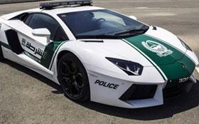 Полиция Дубая будет ездить на Lamborghini