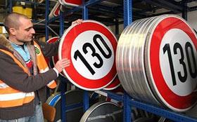 В России увеличили максимальную скорость до 130 км/ч