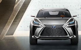Lexus привезет во Франкфурт концептуальный кроссовер