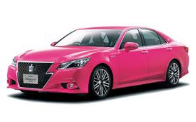 Японцы влюбились в розовую «Тойоту»