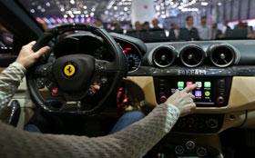 Ferrari интегрировалась с интерфейсом Apple